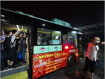 暴雨无情 公交有爱 ——风雨中的坚守,因为我们是公交人